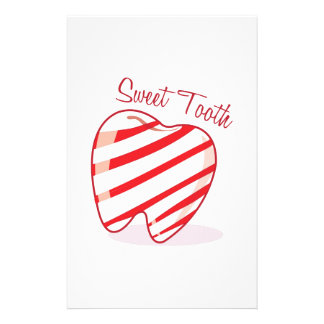 Sweet Tooth Customized Stationery