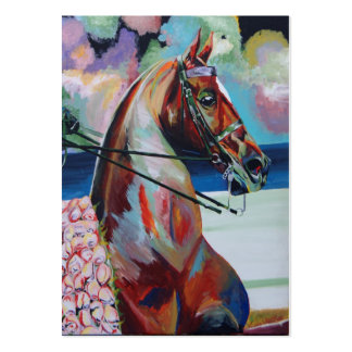 Sweet Treat - American Saddlebred Large Business Cards (Pack Of 100)