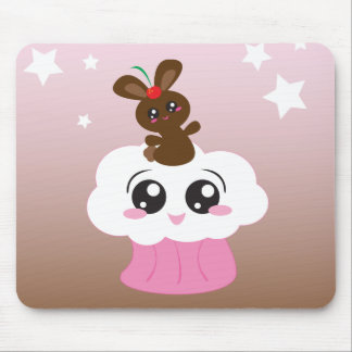Sweet Treat Bunny Mouse Pad