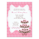 Sweet Treat Cupcake Bridal Shower 5x7 5x7 Paper Invitation Card