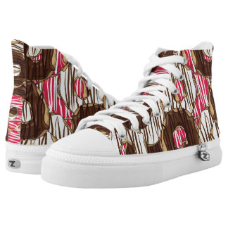 Sweet treat iced donuts High-Top sneakers