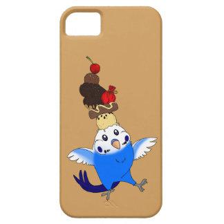 sweet treat [phone case-budgie blue] iPhone SE/5/5s case