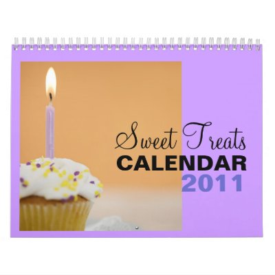 Sweet Treats 2011 Calendar