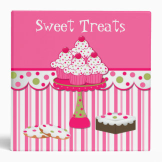 Sweet Treats Bakery Recipe Binder