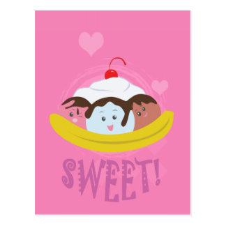 Sweet Treats - Banana Split! Postcard