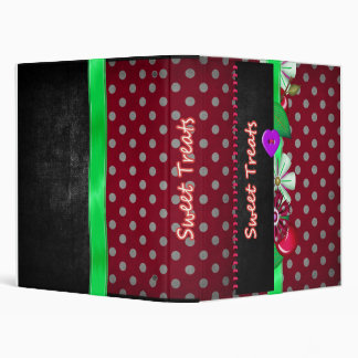 Sweet Treats Binder