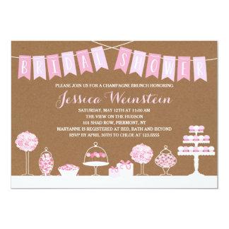 Sweet Treats   Bridal Shower Card