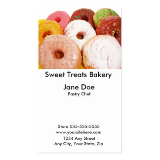Sweet Treats Business Card