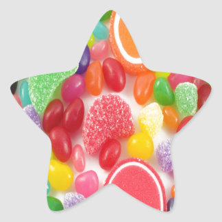 Sweet Treats Candy Land Star Sticker