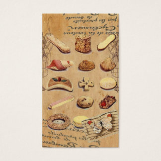 Sweet Treats Catering Paris french pastry Business Card