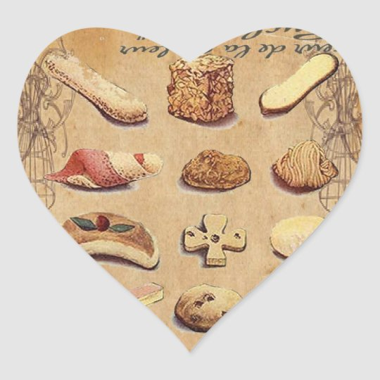 Sweet Treats Catering Paris french pastry Heart Sticker