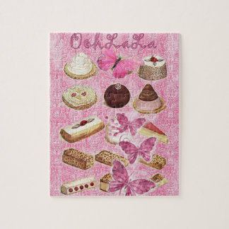 Sweet Treats Catering Paris french pastry Jigsaw Puzzle