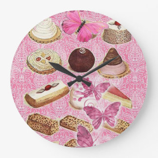 Sweet Treats Catering Paris french pastry Large Clock
