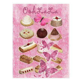 Sweet Treats Catering Paris french pastry Postcard