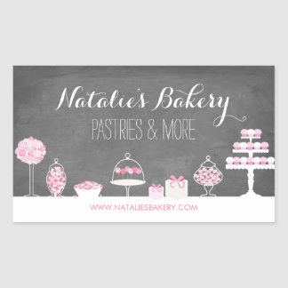 Sweet Treats Chalkboard Bakery Sticker
