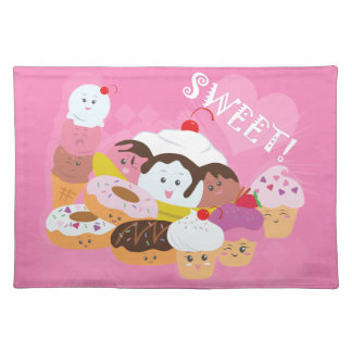 Sweet Treats Cloth Placemat