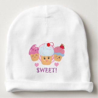 Sweet Treats - Cupcakes! Baby Beanie