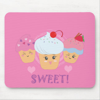 Sweet Treats - Cupcakes! Mouse Pad
