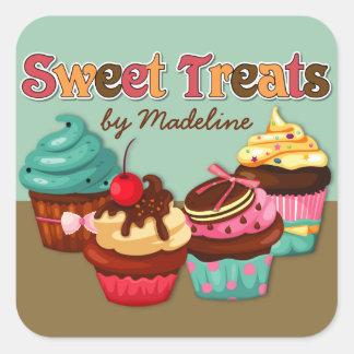 Sweet Treats Cupcakes Sticker