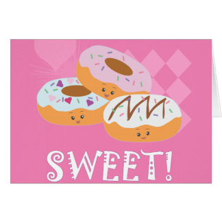 Sweet Treats - Donuts! Card