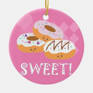 Sweet Treats - Donuts! Ceramic Ornament