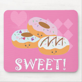 Sweet Treats - Donuts! Mouse Pad