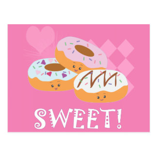 Sweet Treats - Donuts! Postcard