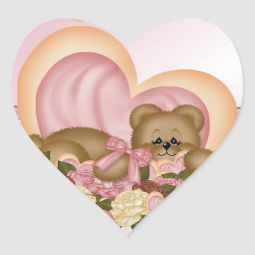 Sweet Treats Heart Sticker