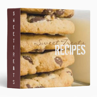 Sweet Treats Recipe Binder