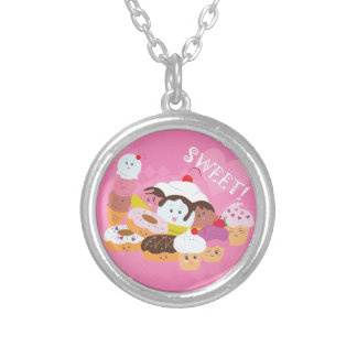 Sweet Treats Silver Plated Necklace