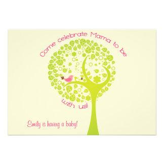 Sweet Tree Baby Invitation