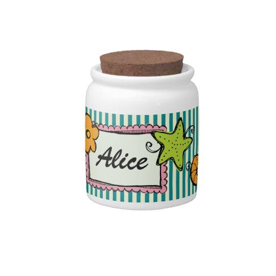 Sweet Trinket Jar - SRF Candy Jar