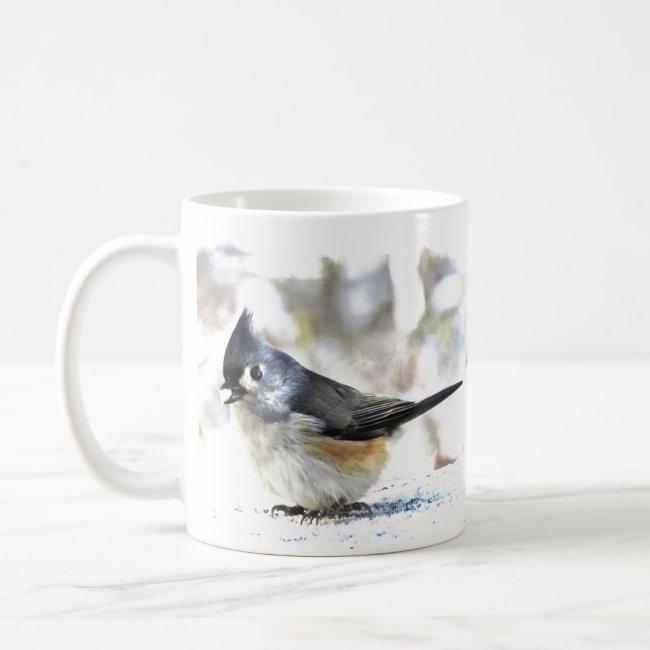 Sweet Tufted Titmouse Bird Nature Mug