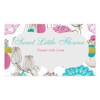 Sweet Tulip Flowers Business Card