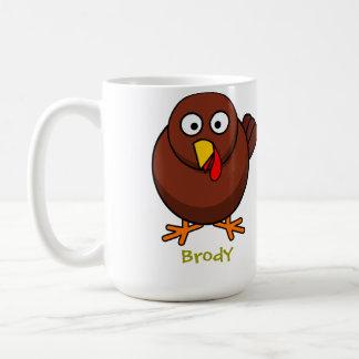 Sweet turkey classic white coffee mug