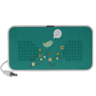 Sweet Tweet Speaker doodle