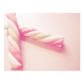 Sweet Twist Candy Photo Postcard