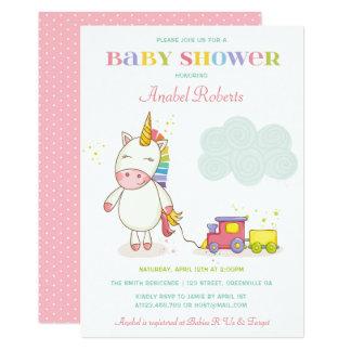 Unicorn Baby Shower Invitations & Announcements | Zazzle