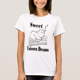 Sweet Unicorn Dreams Tee Shirt - BL