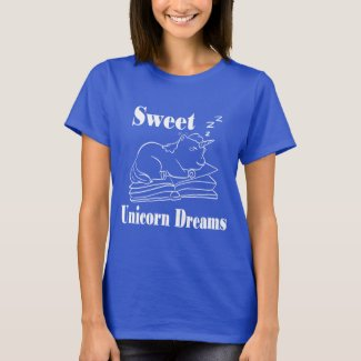 Sweet Unicorn Dreams Tee Shirt - WL