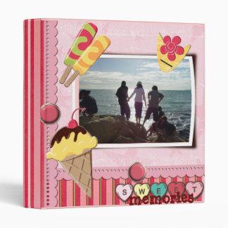 sweet vacation memories binder