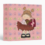 sweet valentine chocolates cutie 3 ring binders