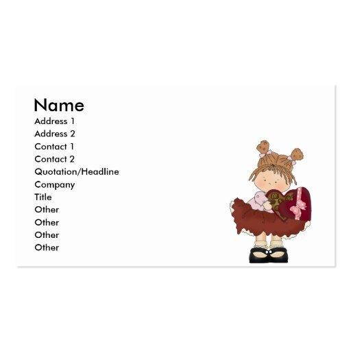 sweet valentine chocolates cutie business card templates