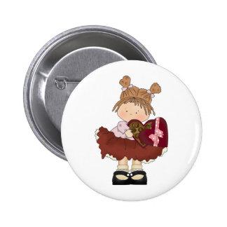 sweet valentine chocolates cutie 2 inch round button