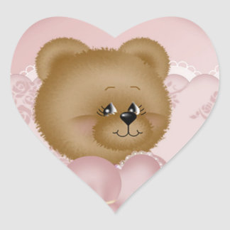 Sweet Valentine Heart Sticker