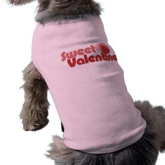 Sweet Valentine Hearts Dog T-shirt