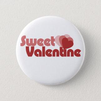 Sweet Valentine Hearts Pinback Button