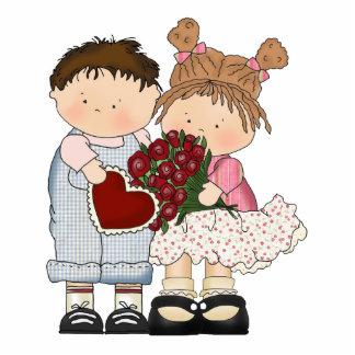 sweet valentine kids photo sculpture