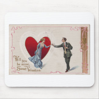 Sweet Valentine Mouse Pad