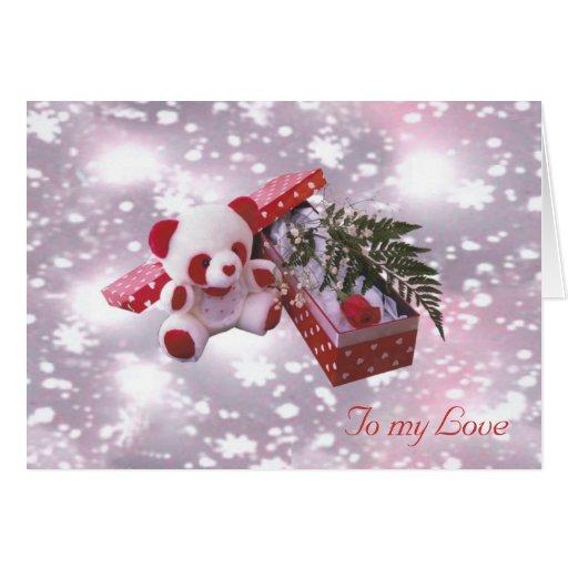 Sweet Valentine's Bear Card